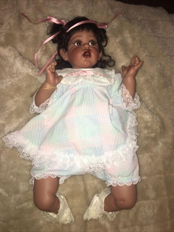 Cherub the fayzah spanos African American doll Baby Life Like