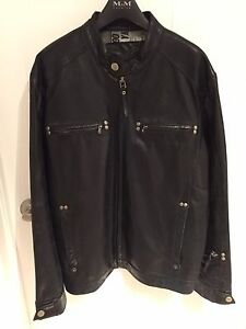 Leather jacket for men's