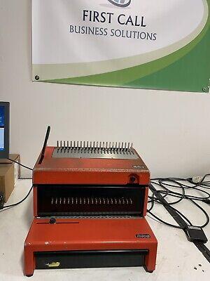 Ibico Epk-21 Commercial Plastic Comb Electric Binding Machine Gbc - Quartet