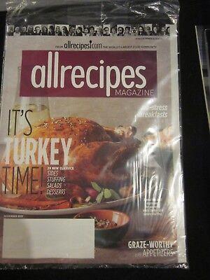 Allrecipes All Recipes Magazine Nov November 2017 Its Turkey Time Brand New