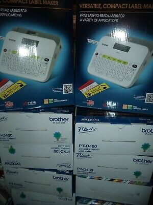 Brother Bonus Deal Pt-d400 Label Maker Free Extra Tape Brand New In The Box