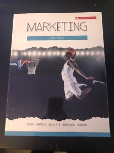Humber Business Marketing the Core 5th Edition