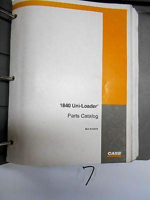 Case 1840 Uni-loader Parts Catalog 8-5373