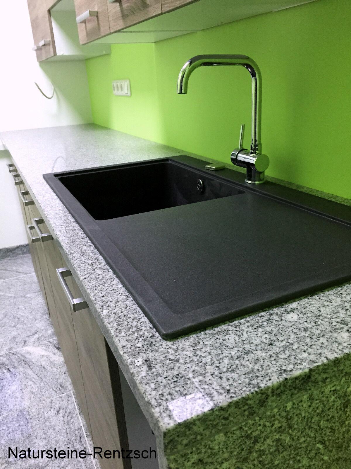 arbeitsplatte abdeckung k che k chenarbeitsplatte k chenplatte naturstein granit eur 109 99. Black Bedroom Furniture Sets. Home Design Ideas
