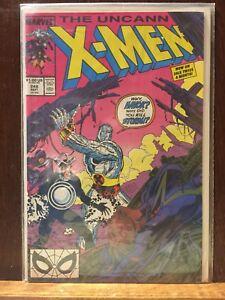 Uncanny X-Men 248 comics