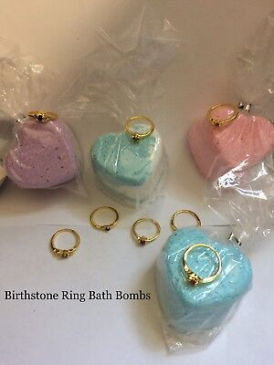 Birthstone Ring Bath Bombs