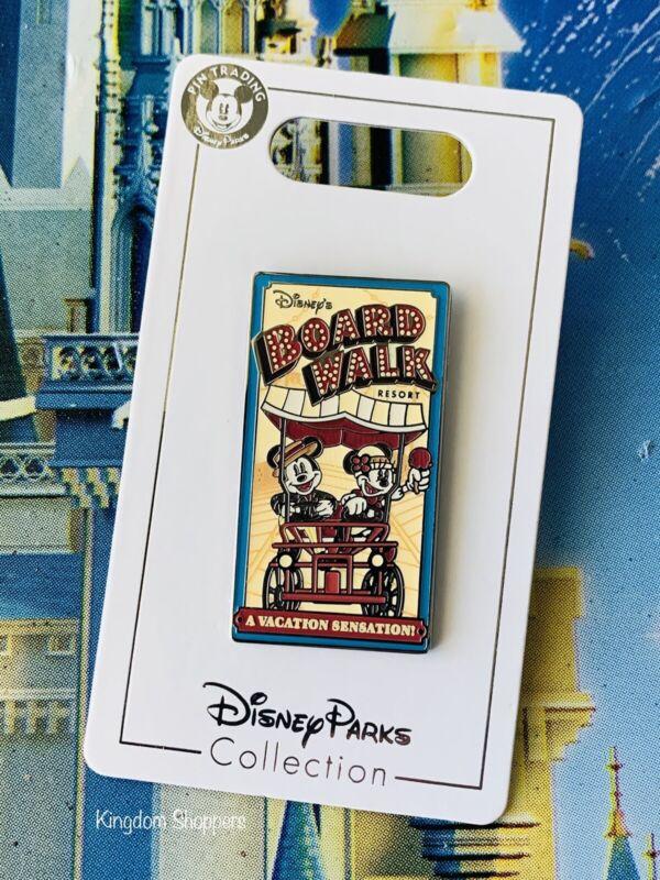 2021 Disney Parks Boardwalk Resort Mickey & Minnie Mouse Vacation Sensation Pin