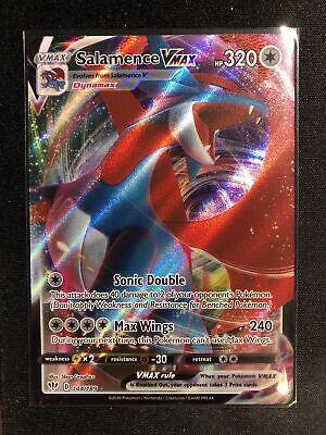 144//189 Salamence VMAX Darkness JG2 Ultra Rare Near Mint Sword /& Shield