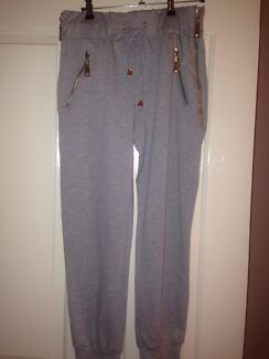Women's grey pants with Gold zippers Concord Canada Bay Area Preview
