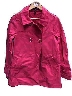 "VIntage Style GAP Cotton Canvas Swing Jacket, Fushia Pink,size M (36""Bust), #56"