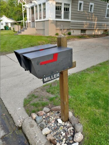 Heavy Duty Steel Mailbox