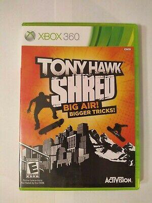 Tony Hawk Shred (XBOX 360) New