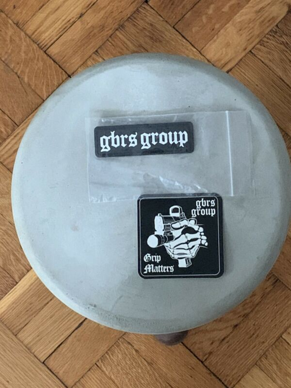 GBRS Group Name Patch + Sticker Grip Matters