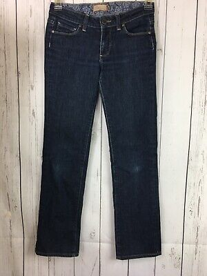"Paige Jeans Size 27 Melrose Straight Leg Blue Premium Denim Womens 28"" inseam - Paige Premium Denim Blue Jeans"