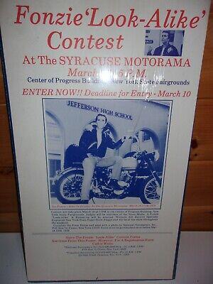 FONZIE look-alike contest VINTAGE ORIGINAL SYRACUSE MOTORAMA 1979 19