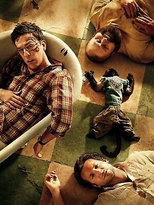 """THE HANGOVER 16"""" x 12"""" Photo Repro Textless Poster"""