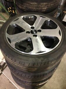 "4x100 17"" rims and tires"