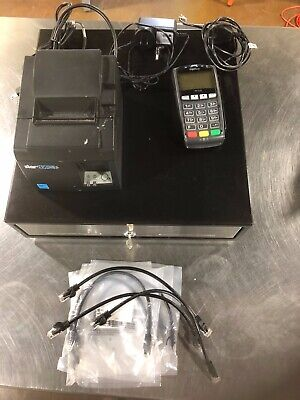 Point Of Sale System Cash Box Thermal Receipt Printer Credit Card Reader
