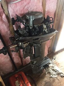 Outboard 18 hp