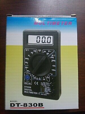 Dt830b Digital Lcd Voltmeter Ammeter Ohmmeter Multimeter Volt Acdc Multi-tester