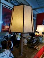 12083SAH Alte Stehlampe toller Schirm Bayern - Augsburg Vorschau