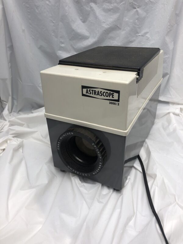 VTG Astrascope 3000/2 3000 Image Projector with Case Luminos Photo Corp WORKS