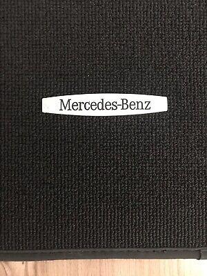 Original Mercedes GLK Fußmatten 4-teilig Schwarz
