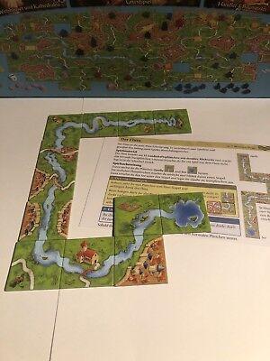 Carcassonne Erweiterung Der Fluss - neue Edition - Erweiterung