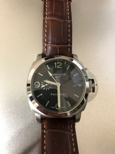 $149.00 - MENS Swiss LUXURY LEATHER  WATCH Luminar