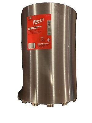 Milwaukee 12 Diamond Premium Wet Core Bit 15 Drilling Depth 48-17-3120