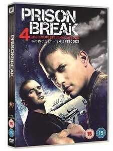 Prison Break: The Complete Season 4 (6 Discs) - DVD