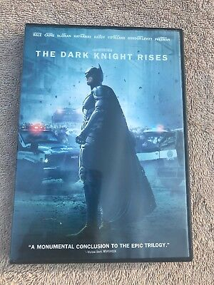 The Dark Knight Rises - (2012) Batman Action Bane Gotham Catwoman DVD (Catwoman Dark Knight Rises)