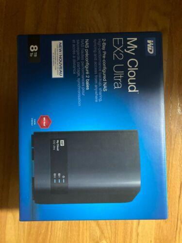 Western Digital My Cloud Expert Series EX2 Ultra NAS System, 8TB