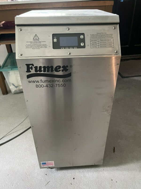FUMEX FA2SSD FUME EXTRACTOR Exhaust 120V. Filter. Laser Cutter. Engraver.