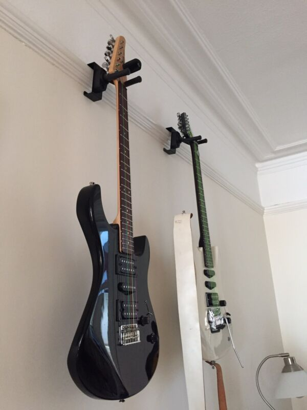 Picture Rail Guitar Hangers - Tidy