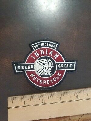 VINTAGE INDIAN RIDERS GROUP MOTORCYCLE VEST PATCH