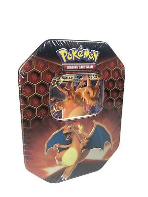 Pokemon Hidden Fates Charizard GX Tin RARE Brand New Sealed