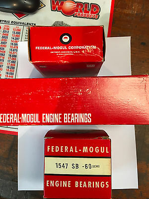 Minneapolis Moline Main Bearings 4164m-60 M602 And M670 Gas Hue He Fef