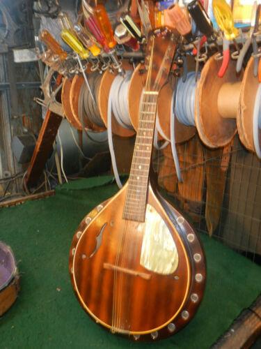 "Vintage ""Blue Comet"" 1960s Harmony Made In The USA Leo Master Resonator Mandolin"