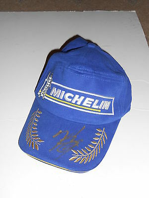 f6728d1cf7703 Nicky Hayden Hand Signed Official Michelin Podium Cap Very Rare.