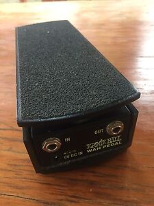 Ernie Ball Wah Effects Pedal Everton Hills Brisbane North West Preview