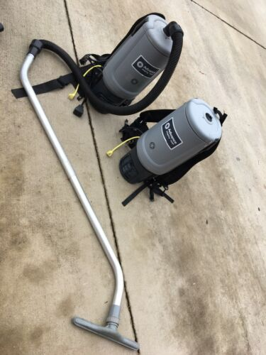 Pair  Advance Adgility 10XP Backpack Vacuums