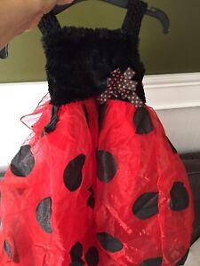 Ladybug dress for Halloween
