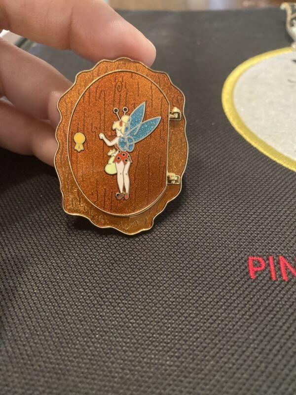 Disney Shopping Pin Le250 Halloween Door Peter Pan Indian Chief Tinker Bell
