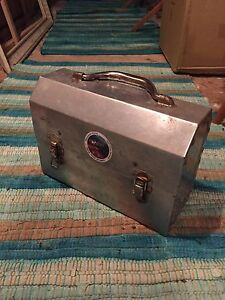 Steel lunch box (old)