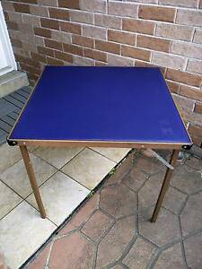 Folding Outdoor, Card, Gaming, Small table Hinchinbrook Liverpool Area Preview