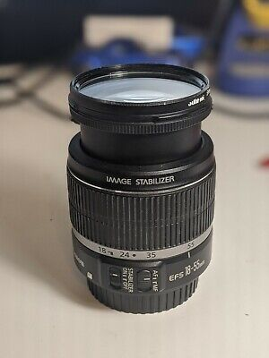 Canon EF-S 18-55mm f/3.5-5.6 IS Lens - Excellent Condition!