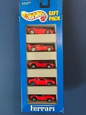 Hot Wheels 1994 Ferrari 5pack Ferrari F40  348  308 plastic body vari Testarossa
