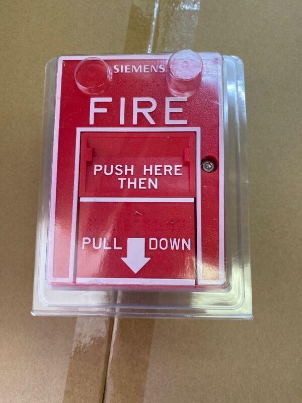 SIEMENS HMS-D NEW 500-033400 Pull Station Fire Alarm