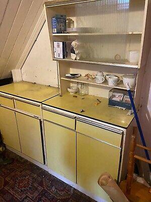 Free standing Retro Vintage Kitchen Unit Cabinets